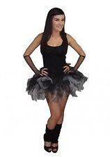 Neon  6 Layer Tutu Skirt Legwarmers Gloves UK Sizes 8-20 80s Fancy Dress Fun Run