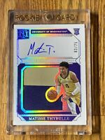 2019 Matisse Thybulle Panini National Treasures RC Patch On Card AUTO #03/25 🔥