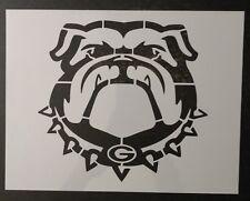 """Bulldog Bull Dog Georgia Bulldogs 11"""" x 8.5"""" Custom Stencil FAST FREE SHIPPING"""