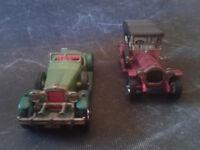 LOT MATCHBOX models of yesteryear Y12-2 1909 THOMAS FLYABOUT+ STUTZ BEARCAT 1931
