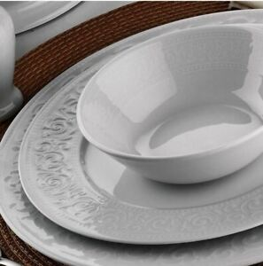 Kütahya Porselen Acelya 24 tlg Tafelservice Essservice Tellerset Kombiservice