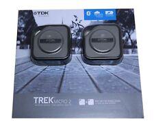 GENUINE TDK Bluetooth Speakers 2 Pack Trek Micro 2 Free Fast Post