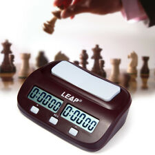 LEAP PQ9907S Game Chess Clock I-Go Count Up Down Timer Competition School Home