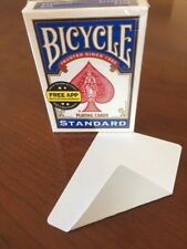 1 DECK Bicycle DOUBLE-BLANK gaff magic playing cards
