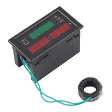 AC80-300V 100A Digital LED Current Voltage Tester Meter Electric Detection @1