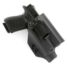 IWB Kydex Holster for Handguns with Crimson Trace CMR-208  - MATTE BLACK