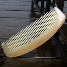 ONE Handmade pure Sheep Horn Comb,MAN WOMAN Hair Massage Anti-static Natural