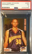 2009-10 Stephen Curry RC Panini Sticker ROOKIE PSA EX 5