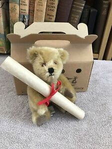 Rare Baby Edward Teddy Bear - Big Softies - Mohair - Vintage - Limited Edition?