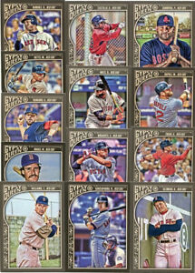 Boston Red Sox 2015 Topps Gypsy Queen Team Set  Williams  Bogaerts Boggs  Mookie