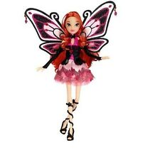 Winx Club Bloom Pink Enchantix Special Edition Doll,  & Sparkling Wings