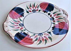 Antique Grimwade Royal Winton Welsh Pattern Cake Plate 27cm wide