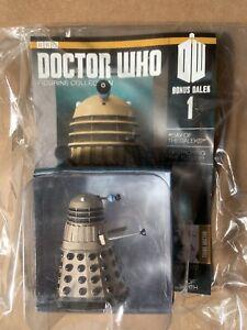 Eaglemoss Doctor Who Figure Collection Gold Dakek (Online Bonus 1)