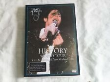 MICHAEL JACKSON HISTORY WORLD TOUR LIVE IN AUCKLAND, NZ 1996 - DVD-R / PAL