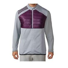 adidas Golf Climaheat Quilted Vest Purple Red Night UK Size Medium