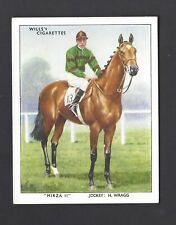 WILLS - RACEHORSES & JOCKEYS 1938 - #17 MIRZA II