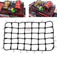 Rc 1/10 Scale Accessories Traxxas TRX-4 D110 Luggage Roof Rack Net Black