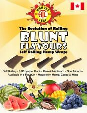 High Tea Leaf Self Rolling Hemp Wraps - 6 Flavour Choices - Pick Your Own 1 Pack