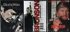 DEATH WISH COMPLETE COLLECTION 1-5 DVD 3 DVD SET 1/2/3/4/5 NEW SEALED FREE SHIP