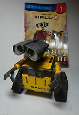Pixar WALL-E Disney Dancing Action Figure Interactive Audio & Reading Book #1