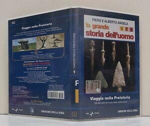 07591 DVD - Piero e Alberto Angela - VIAGGIO NELLA PREISTORIA - Corriere Sera