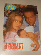 TV SORRISI CANZONI=1984/18=GLORIA GUIDA=CARMEN RUSSO=FABRIZIO DE ANDRE=FOOTLOOSE
