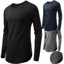 Unbranded Long Sleeve Hip Hop T-Shirts for Men