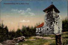 Feldpostkarte 1. Weltkrieg 1918 Stempel Rastatt auf AK Teufelsmühle Neuer Turm