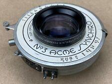 ilex 6-1/2 Inch f/4.5 Paragon w/ No.3 Acme Synchro Shutter - Large Format Lens