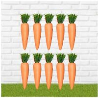10pc Easter False Carrot Party Decoration Egg Hunt Craft Party Loot Basket Child