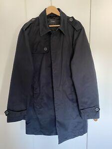 Linea Mens  Black Over Coat