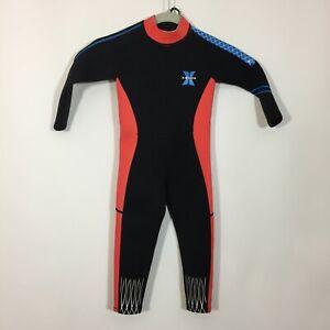 Dive & Sail Wetsuit Kids Youth Size Medium Black X-Manta Swim Surf