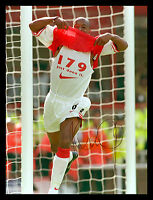 *New* Ian Wright Hand Signed 12x16 Arsenal Photograph : A