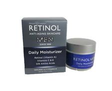 Skincare Cosmetics Retinol Anti-Aging MEN Daily Moisturizer 1.7 oz 50 g Men's