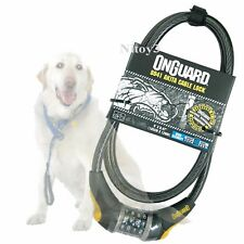 OnGuard Akita Cable Bike Lock 4-Digit Combination- 12mm Steel Cable   (T)