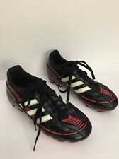 Adidas soccer youth size 2-Unisex-Spg-753001-11/10 -Blk/Pink-Cleaned-Ships N 24Hr