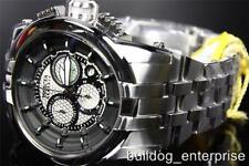 Mens Invicta 14206 Reserve Specialty Silver Black Chronograph Swiss Watch New