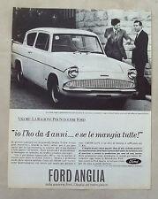 E424-Advertising Pubblicità-1964 - FORD ANGLIA