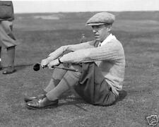 Francis Ouimet 1920's photo relaxing with a 'Brassie'