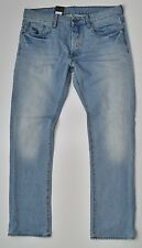 G-Star Raw - 3301 Slim Straight Jeans - Light Aged Wisk Denim W36 L32 NEW