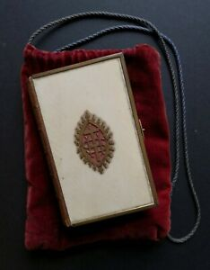 Antique Book of Common Prayer & Church Services Gilt Mounted Ivorine Cover c1860
