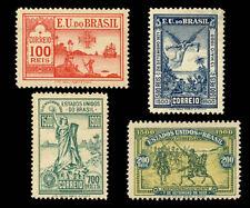 4th Century Discovery Brasil  Michel 138-41 Sn 162-65 Yvert 112-15 RHM C-1-4