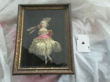 Antique French Bisque Doll In Shadowbox