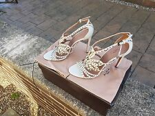 Ladies Designer Alaia of Paris D-Pumps in Beige UK7  EU40