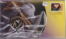 Australia Stamps Pnc 2009 Micromonsters Praying Mantis Commemorative Medallion