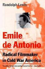 Emile de Antonio:  Radical Filmmaker in Cold War America-ExLibrary