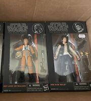 Star Wars Black Series 6 Inch Lot New