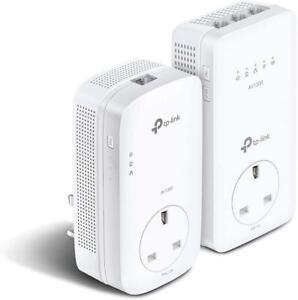 TP-Link TL-WPA8631P KIT AV1300 Gigabit Passthrough Powerline ac Wi-Fi Kit UK