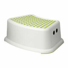 Ikea Forsiktig Childs childrens kids non slip safety step stool green dots