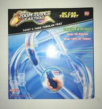 Zoom Tubes Car Trax As Seen On Tv Twist & Turn Tubular Rc Racing Track 25 pc Set